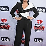 April at the iHeartRadio Music Awards in Los Angeles