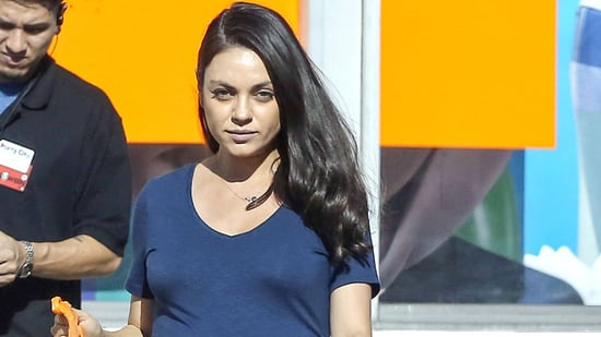 Pregnant Mila Kunis Is All Baby Bump as She Leaves Party Store Ahead of Daughter Wyatt's 2nd Birthday
