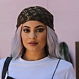 Kylie Jenner With Pastel Rainbow Hair in 2016
