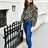 Easy Outfit Ideas: A Top, Jeans, and Mules