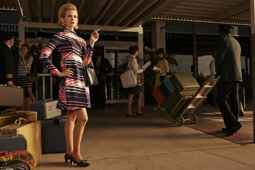 January Jones is back as Betty.