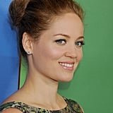 Your ponytail is just a roll and tuck away from this basic knotted style seen on Erika Christensen.