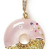 Bao Bao Wan Diamond Rose Quartz Donut Pendant (£1,890)