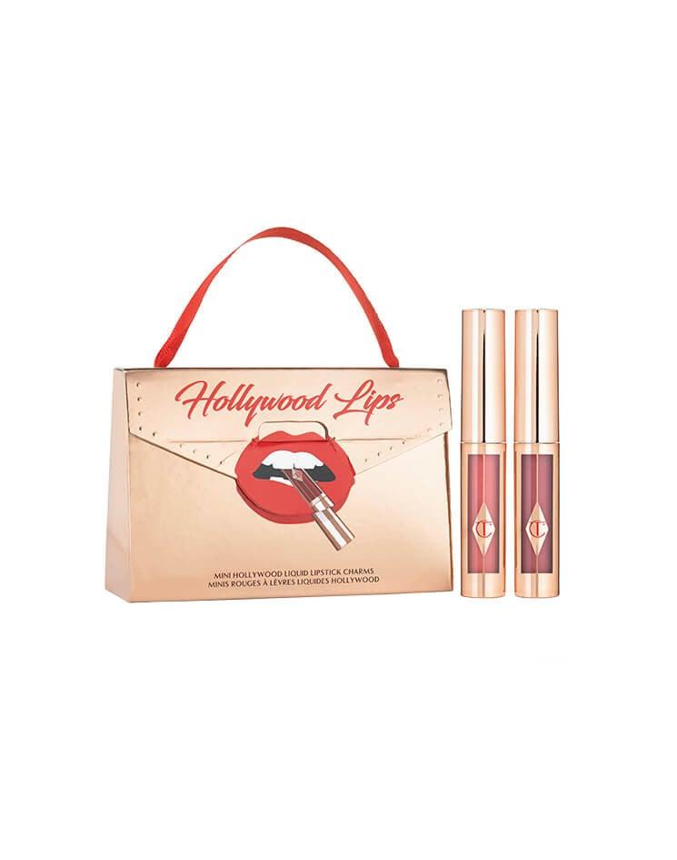 Mini Hollywood Liquid Lipstick Charm Set
