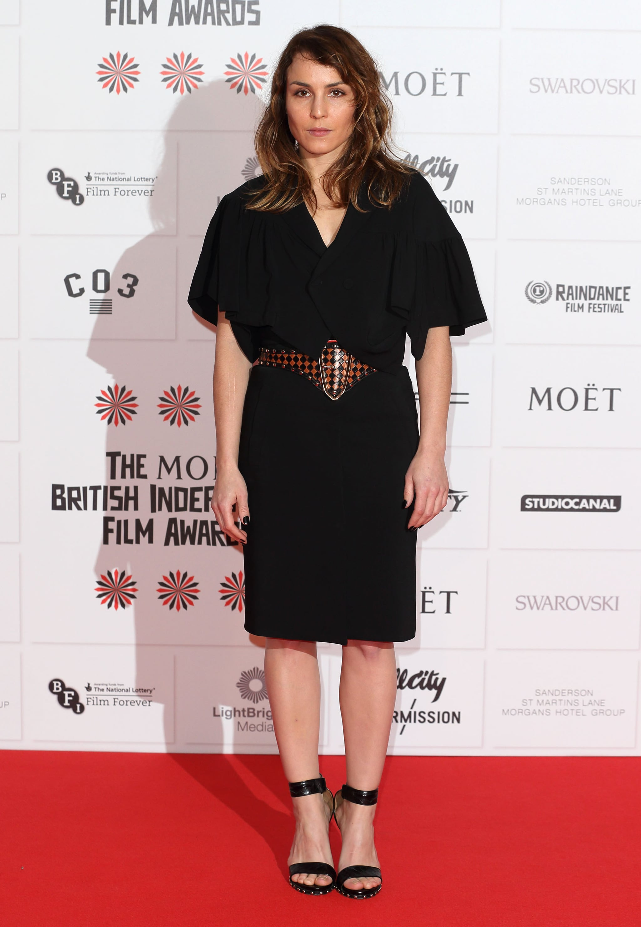 Noomi Rapace worked the red carpet at the BIFAs.