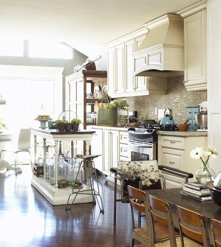 Cool Idea: Decorate Private Spaces First