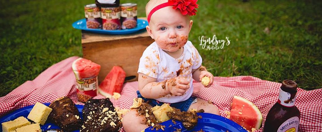 BBQ Food and 8 Other Genius Ideas For a First Birthday Smash Sans Cake