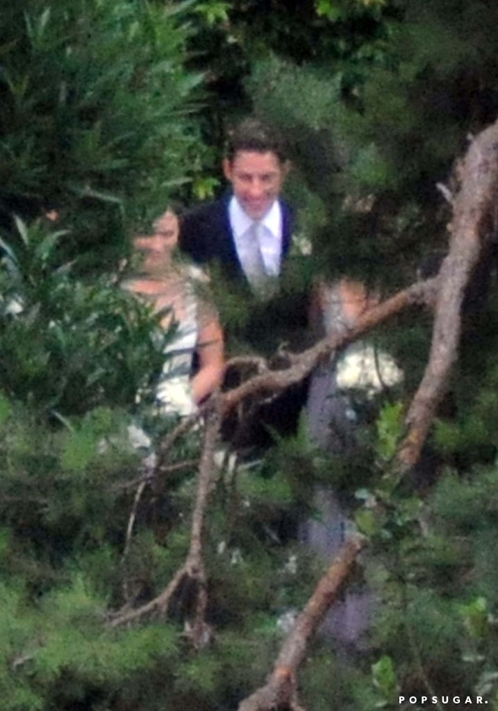 Emily Blunt and John Krasinski held their July 2010 wedding ceremony at George Clooney's Lake Como villa.