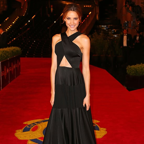 Live 2015 Brownlow Medal WAGS Red Carpet Dresses