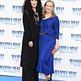 Meryl Streep and Cher at the Mamma Mia 2 Premiere in London