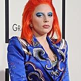 Lady Gaga at the 2016 Grammys