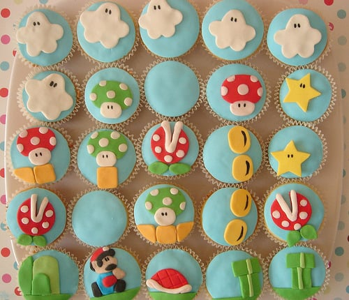 Edible Geek: Super Mario Cupcakes