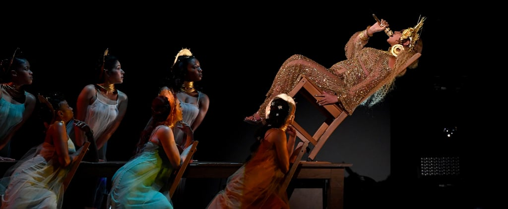 The Internet Lost It Over That Chair Lean in Beyoncé's Grammys Performance