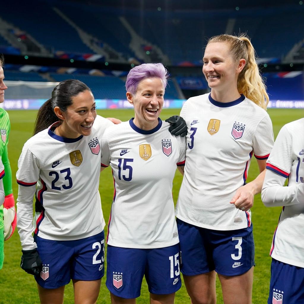 Meet the 2021 US Olympic Women's Soccer Team | POPSUGAR Fitness