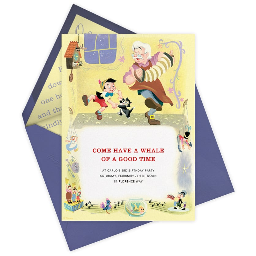 Disney Paperless Post Party Invitations POPSUGAR Home