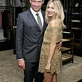 Dominic West and Sienna Miller
