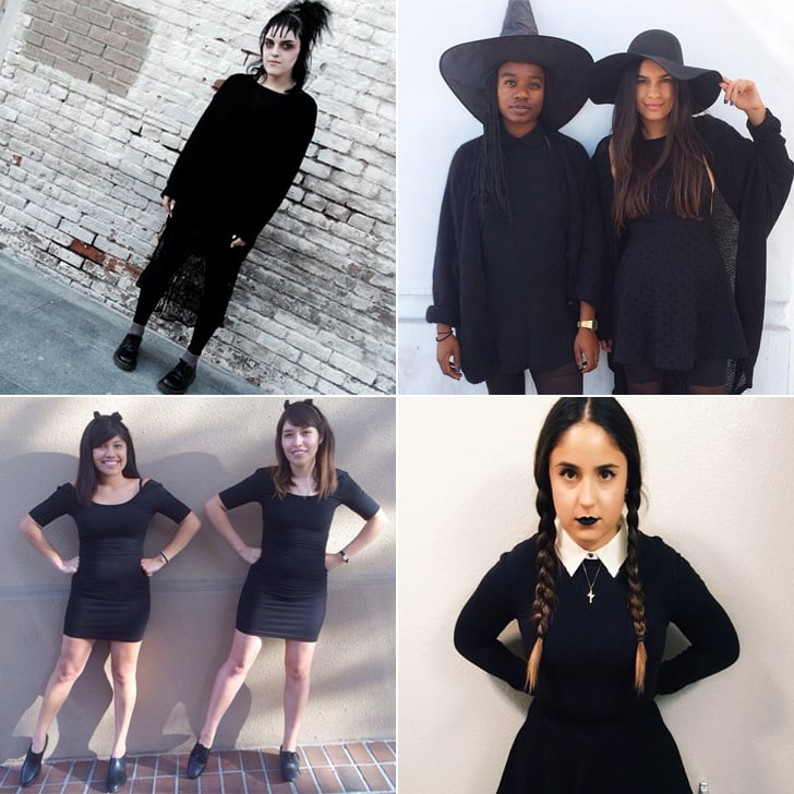 23 Easy Costumes You Can DIY With Just a Black Dress