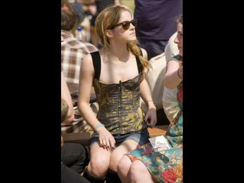 Pictures of Emma Watson at Glastonbury Festival