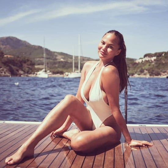 Chrissy Teigen Swimsuit Pictures in Italy July 2019