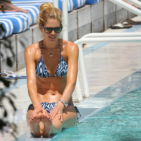 Doutzen Kroes Bikini by the Pool in Miami Pictures