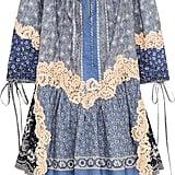 Chloé x Net-A-Porter Printed Lace-appliquéd Cotton And Silk-blend Voile Mini Dress ($2,050)