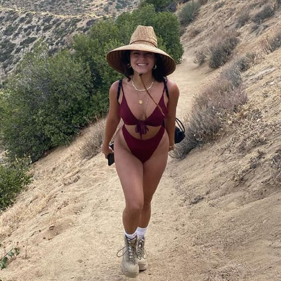 Vanessa Hudgens Wore a Cutout One-Piece Swimsuit For Hiking