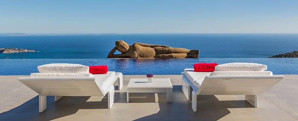 Kate Hudson's Ibiza Villa