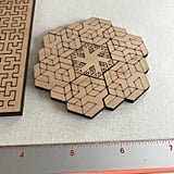 Small Wooden Fractal Puzzle