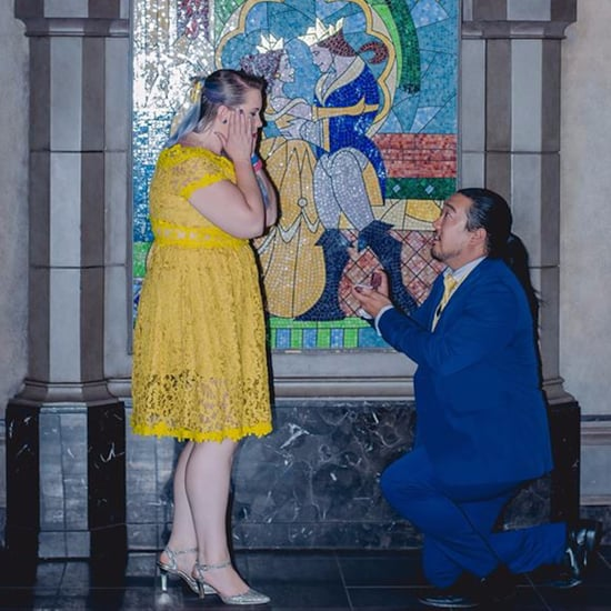 Disney World Beauty and the Beast Proposal