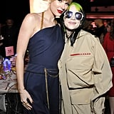 Taylor Swift and Billie Eilish at Billboard Event Pictures