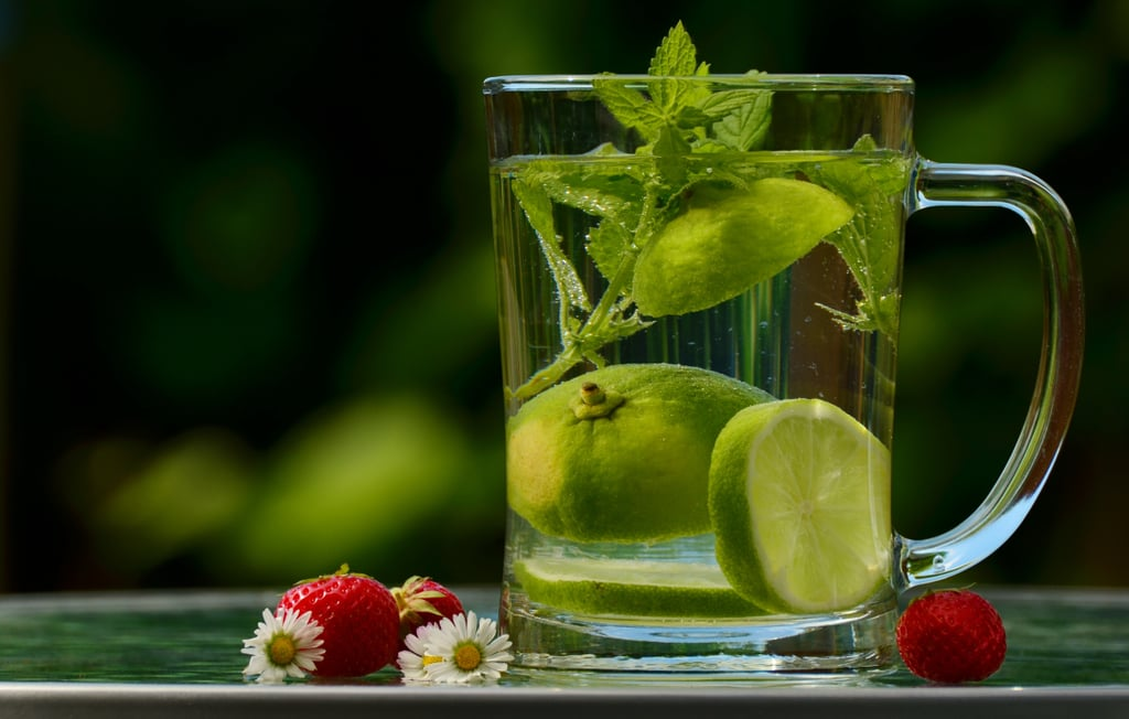 Swap Soft Drinks For Infused Water