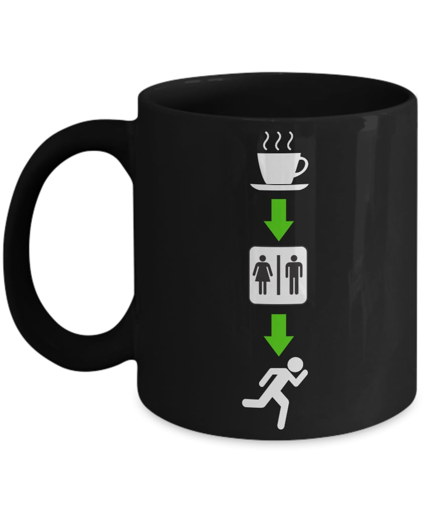 A Runner's Morning Coffee Mug