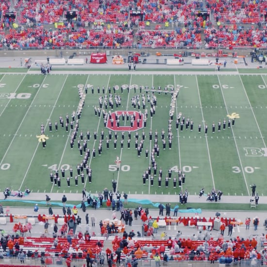 Ohio State Marching Band's SpongeBob Halftime Show Video