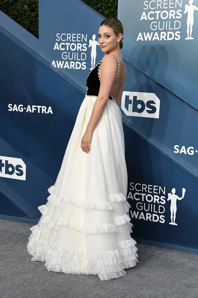 Lili Reinhart Wore a Miu Miu Dress to the 2020 SAG Awards