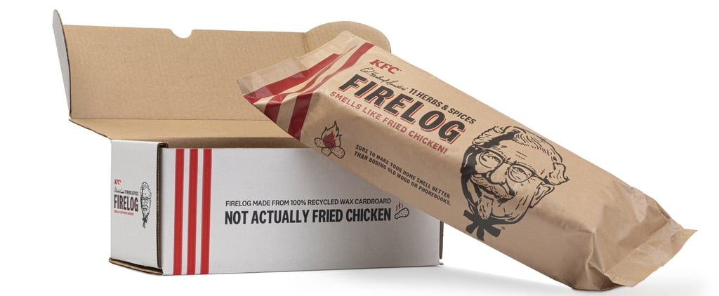 KFC's 11 Herbs and Spice Firelog For the Holidays