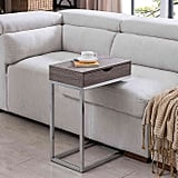 Bence Storage C-Shaped Table