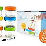 Jervis & George Glass Baby Food Storage Containers