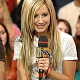 Ashley Tisdale Chunky Highlights Throwback Picture Nostalgia