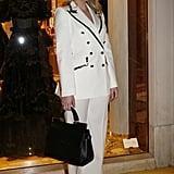 Lady Kitty Spencer Dolce & Gabbana Suit 2019
