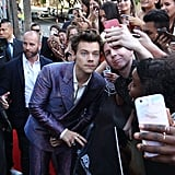Photos of Harry Styles on the ARIAs Red Carpet 2017