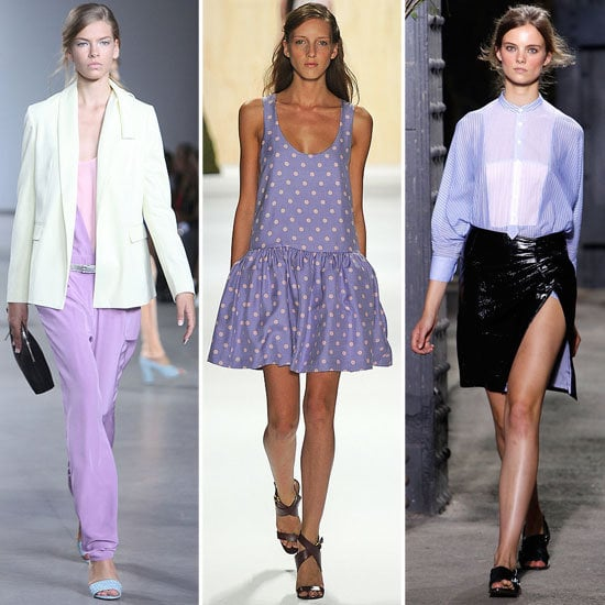 Purple Lilac Street Style Looks February 2012