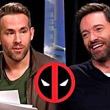 Deadpool Interviews Wolverine for EDDIE THE EAGLE (2016) Ryan Reynolds, Hugh Jackman