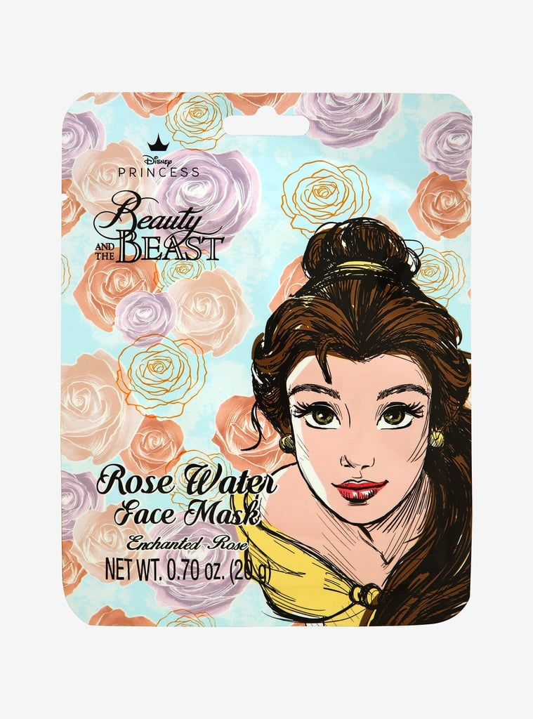 Disney Beauty and the Beast Enchanted Rose Face Mask