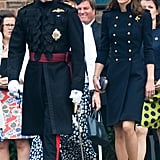 Kate at King Edwards VII Hospital in 2012