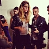 Also present to celebrate the new line was Doutzen Kroes.