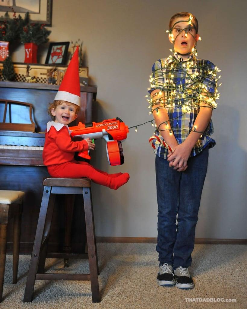 Real-Life Elf on the Shelf Ideas
