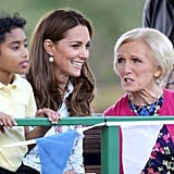Kate Middleton Visits Back to Nature Garden at RHS Wisley