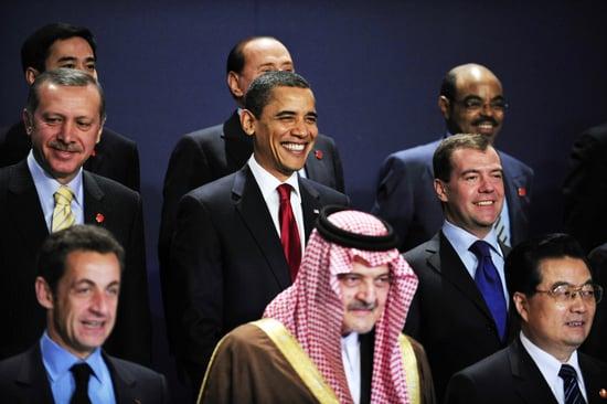 Front Page: Sarkozy Calls For Global Regulator at G20