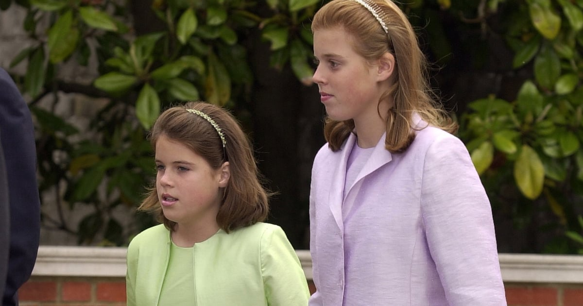 Princess Beatrice and Princess Eugenie are giving us all the throwback