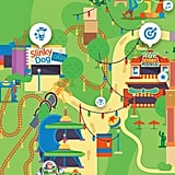 Use it as a map to plan your day at a particular park.